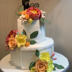 All types of orders are taken. My speciality includes designer cakes for weddings,birthdays,anniversary.... COOKING AND BAKING IS MY PASSION.MY INSPIRATION FOR COOKING AND BAKING WAS FROM CHILDHOOD AND SCHOOLING WHERE I HAD COOKING CLASSES IN SCHOOL IN MALAYSIA. ALL MY CAKES ARE SAFE WITH NO PRESERVATIVES.