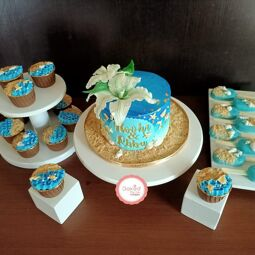 Baked For You  specializes in a variety of cakes and other bakes handcrafted to look and taste to utmost perfection.